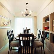 三室一厅简约餐桌装修