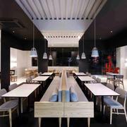 现代简约风格咖啡厅装饰