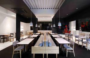 风格众多 品味出众的咖啡店吊顶装修效果图