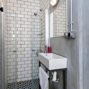 公寓简约卫生间淋浴装修