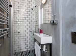 120平米后现代风格loft一居单身公寓装修效果图