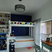 欧式双人间儿童房装饰