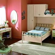 美式风格儿童房床头柜装修