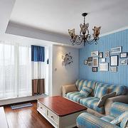 地中海风格三室一厅飘窗装饰