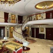 大型旋转楼梯设计