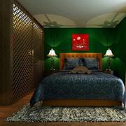 东南亚风格卧室整体衣柜设计