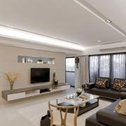 欧式风格客厅简约飘窗设计