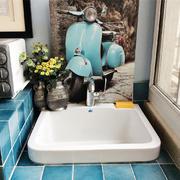 小户型卫生间洗漱池设计