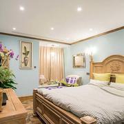三室一厅卧室背景墙设计