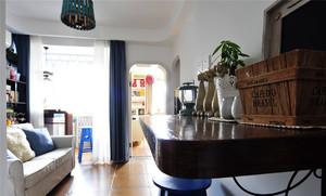 抹茶系清新一居室小户型设计:为了更好地文艺