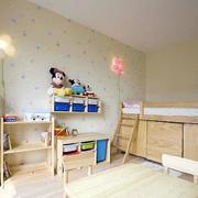 欧式小碎花儿童房背景墙