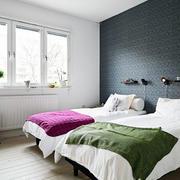 两室一厅双人间卧室装修