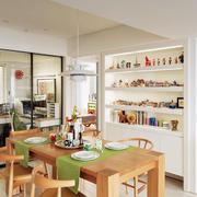 公寓整体置物架装饰