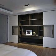 后现代风格可移动卧室柜子设计