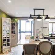 三室一厅厨房背景墙装饰