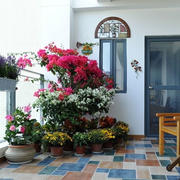 地中海风格阳台装饰