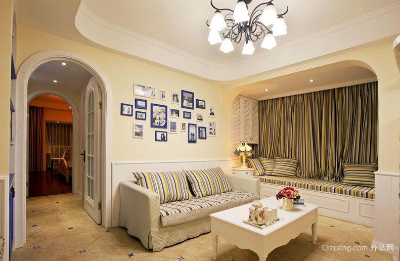 很多人的梦想:简单唯美的三室一厅家庭装修效果图