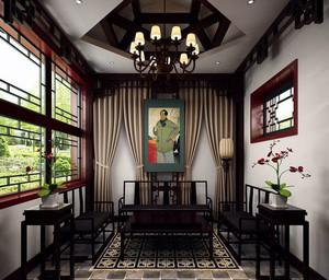 北京经典带有贵族气息的四合院装修效果图