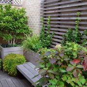花园简约盆栽装饰