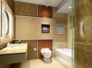 欧式卫生间瓷砖设计