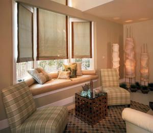 东南亚风格客厅飘窗装修