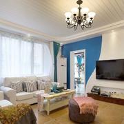 小户型地中海风格客厅设计