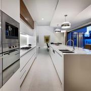 后现代风格别墅厨房装修