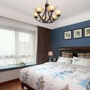 简约风格卧室照片墙装饰