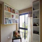 后现代风格悬挂式书柜