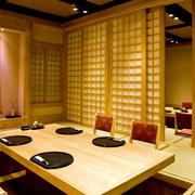 日式简约风格餐厅装修