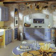 地中海风格厨房整体橱柜