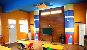 幼儿园教室打扫背景墙设计