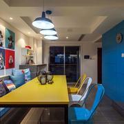 地中海风格餐厅装饰