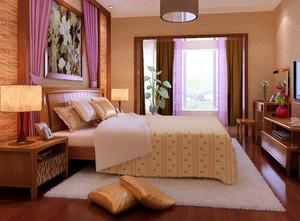 不一样的异域风情:东南亚风格卧室装修效果图