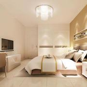 简约风格卧室床头背景墙设计