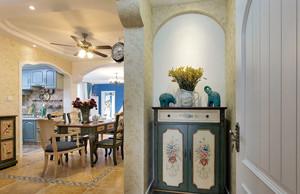 清雅自在 清幽闲散的地中海小户型室内装修效果图大全