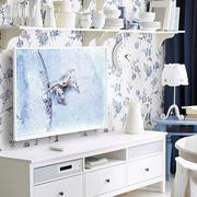 北欧风格印花电视背景墙