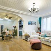 小户型客厅石膏板装饰