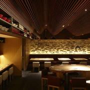 大型餐厅创意吊顶效果图