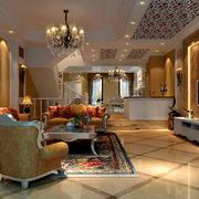 欧式奢华客厅装修