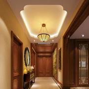 美式复古风格走廊吊顶装饰