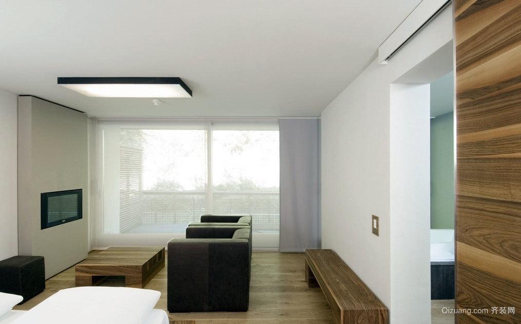 温馨感十足 豪华欧式客厅装修效果图