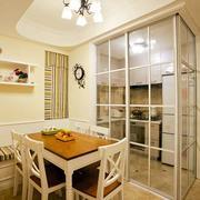 三室一厅厨房隔断装饰