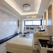 客厅内软装沙发设计