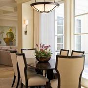 后现代风格餐厅桌椅设计