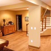后现代风格暖色系地下室装饰