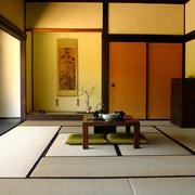 日式禅意榻榻米房效果图