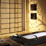日式卫生间按摩浴缸装修