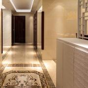 简约风格玄关地板装饰