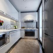 简约风格厨房吊顶设计